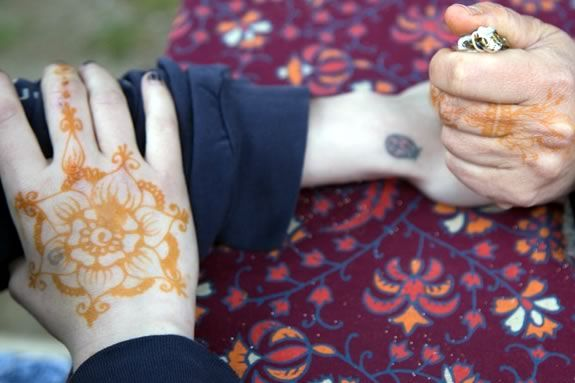 Join the fun at tattoo night for teens at the TOHP Burnham Public Library!