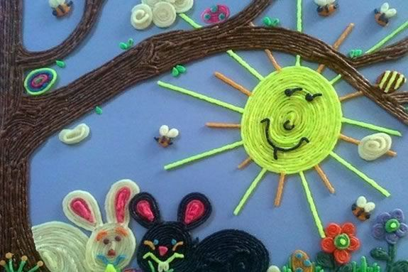 Kids will make their own WikkiStix art at the Newburyport Public Library