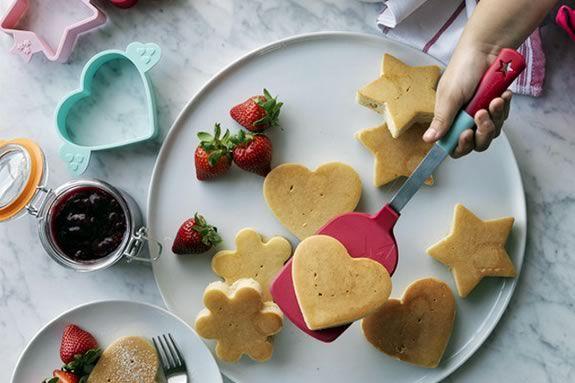Junior Chefs will learn to prepare prepare pancakes for breakfast at Williams-Sonoma Lynnfield!