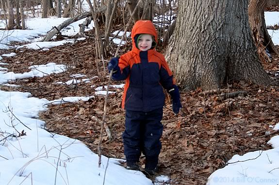 Bring your winter gear to Ward Reservation and celebrate the fun of Winter! Photo ©Bill O'Connor