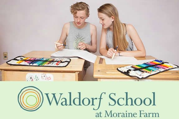 Beverly MA Independent School. Pre-K to 8 grade Waldorf at Moraine Farm Open Classroom Tour