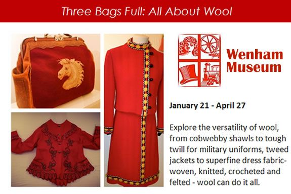 Wenham Museum: Three Bags Full: All About Wool