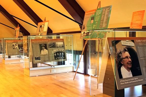 Come learn come great stories about the women of Essex Massachusetts at this FREE exhibit open through Winter 2018
