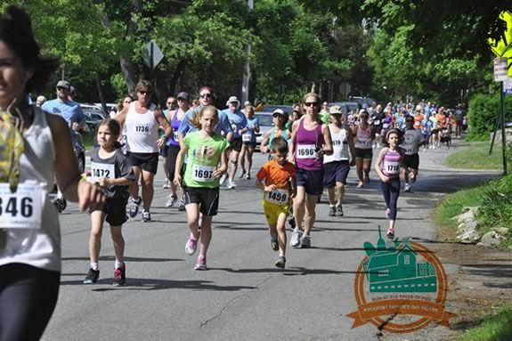 Run, walk or stroller the North Shore YMCA's Fathers day 5-10k race in June 2016