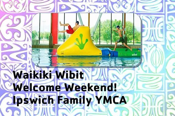 Waikiki Wibit Welcome Weekend at the YMCA in Ipswich Massachusetts