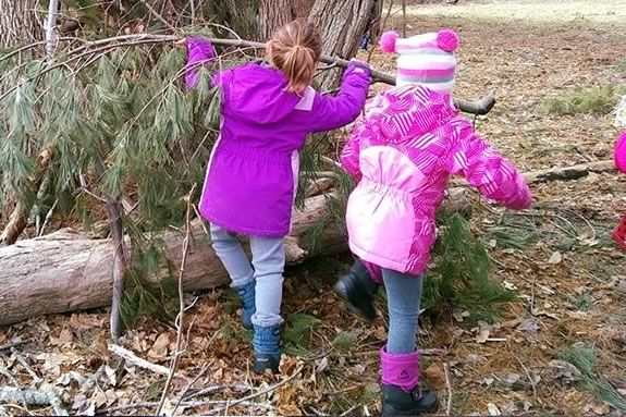 Young Naturalists at the Stevens-Coolidge Place in North Andover Massachusetts