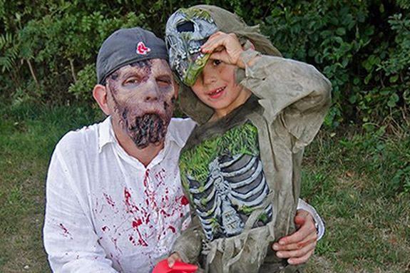 Can you run a 5k while being chased by zombies? It's not about winning, its about surviving