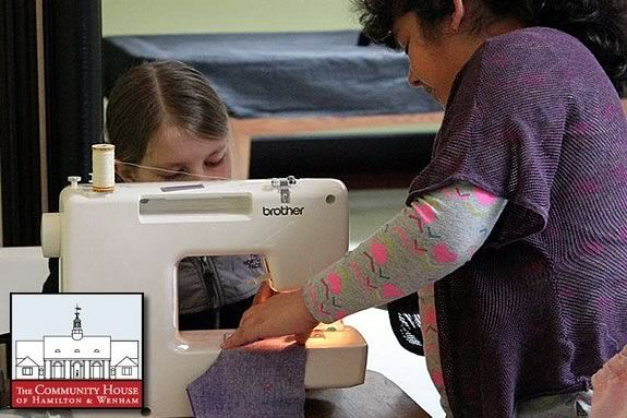 Kids in Grades 2-5 will learn sewing at the Hamilton Wenham Community House.