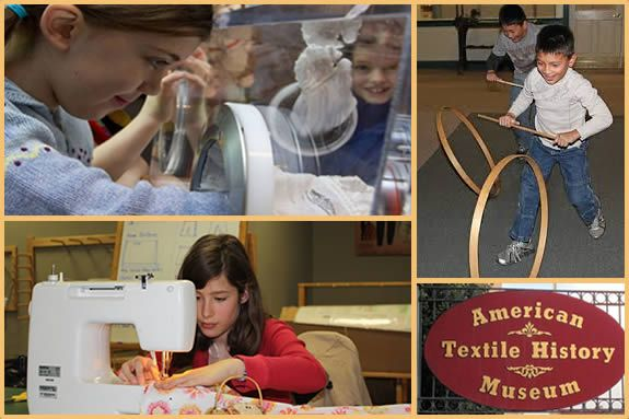 Visit Lowell MA for Summer Programs at the American Textile History Museum