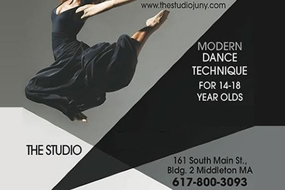 Modern Dance Class with Jill Haney in Middleton MA