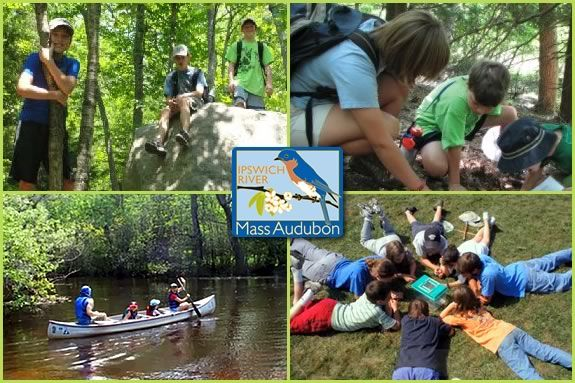 Day Camps at Ipswich River Wildlife Sanctuary are full of adventure, exploration