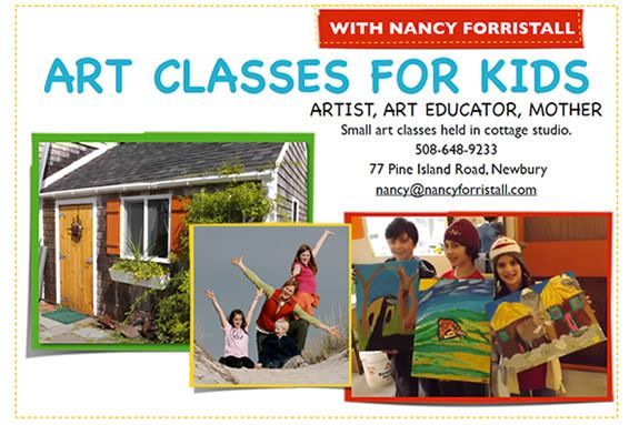 Art classes for kids, North of Boston, Visit Massachusetts, North Shor