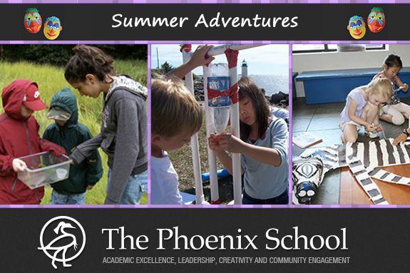 The Phoenix School Summer Adventures Summer Programs for NorthShore Kids