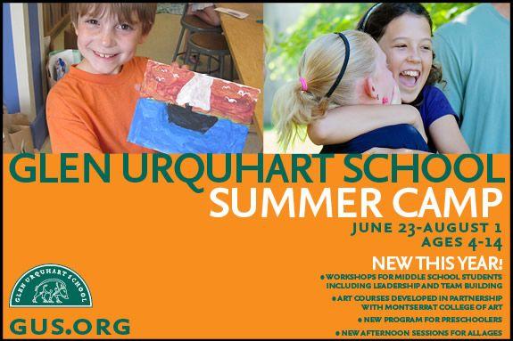 Glen Urquhart School Summer Program in Beverly MA