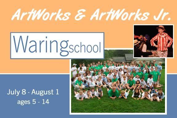 Waring School Summer Art Program for Kids 5-14