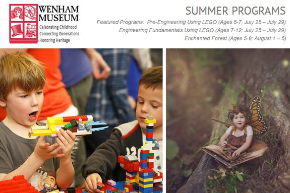 Wenham Museum's Summer Programs offer challenging and enriching experiences for children