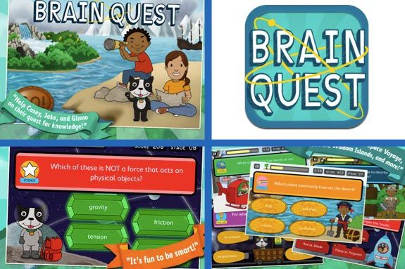 Brain Quest iPhone, iPad, Nook app on iTunes. Brain Quest on North Shore Kid. Fa