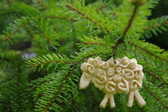 Make Salt Dough Christmas Ornaments