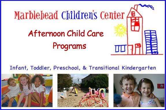 Marblehead Children's Center Open House serving children from infancy to kinderg
