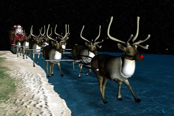 Kids can track Santa with NORAD!