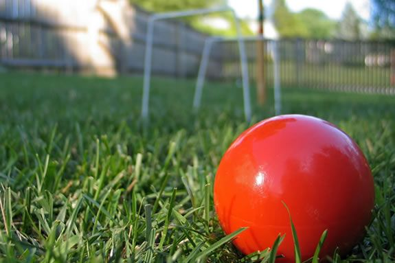 Turn your yard into an outdoor sports venue