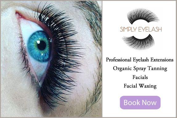 Professional Eyelash Extensions, Facial Waxing, Organic, Natural Spray Tanning, Salon Services
