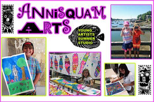 Summer Art and Photography Program for Kids on Cape Ann, Annisquam Arts, Glouces