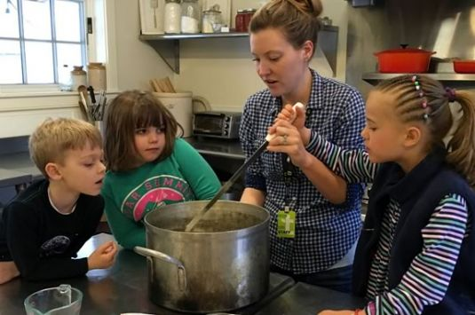 Appleton Farm's Kids in the Kitchen program is geared to children aged 6-9