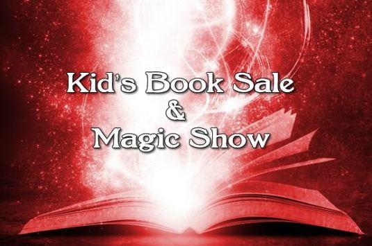 Book Sale and Free Magic Show at Newburyport Public Library