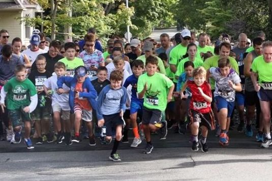 The Fall Frolic 5k and kids fun run is a rain or shine race held at Beverly's Lynch Park!