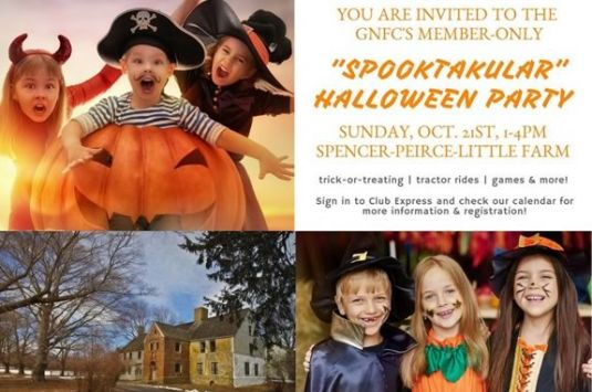 The Greater Newburyport Mothers and Families Club Spooktacular - a fun family outing at Spencer Peirce Little Farm in Newbury