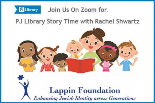 PJ Library Story Time with Rachel Shwartz Lappin Foundation