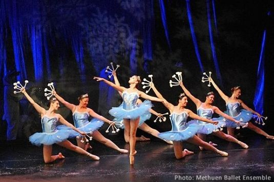 The Nutcracker performed by the Methuen Ballet is a perrenial favorite!