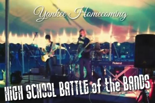 Newburyport High School Battle of the Bands is part of the NBPT Yankee Homecoming.