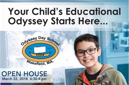 Odyssey Day School in Wakefield MA Open House