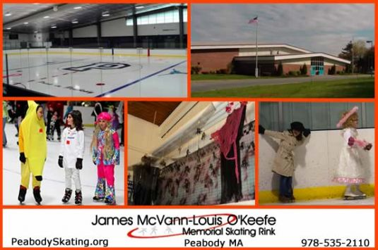 Ice Skate, Skating Rink in Peabody MA. Learn to Skate, Halloween