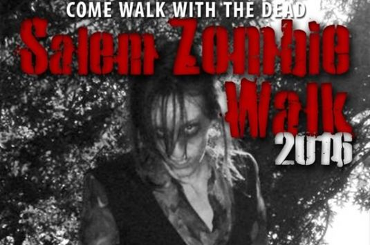 The Salem Zombie Walk is a fun time for all, and kinda scary! Salem Massachusetts Haunted Happenings