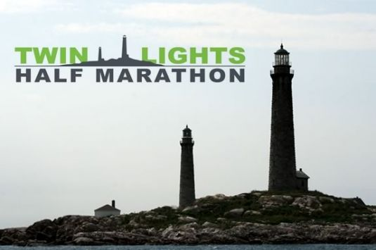 Twin Lights Half Merrython starts at Good Harbor Beach in Gloucester and follows a route along the Gloucester's beautiful back shore.