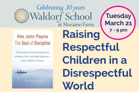 Parent Education at Waldorf School at Moraine Farm in Beverly MA