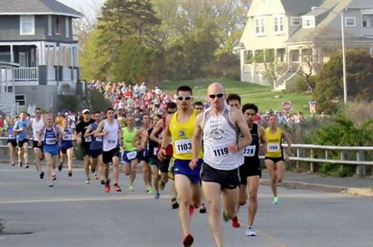 Run the YMCA's Back Shore 5 Mile along the shore of Gloucester Massachsuetts