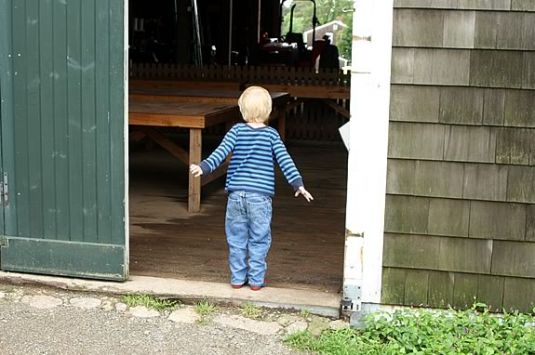 Farm Explorers is a great way for preschoolers to explore Appleton Farms!
