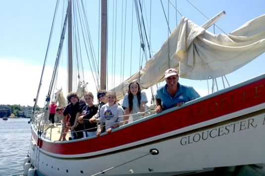 Summer Adventure awaits aboard the Schooner Ardelle out of Gloucester on this Ma