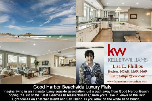 Good Harbor Beachside Luxury Flats in Gloucester MA
